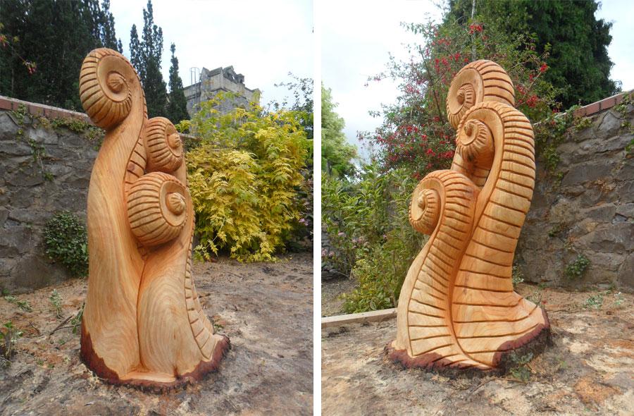 Wooden garden sculptures uk ftempo