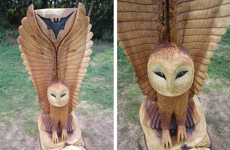 Chainsaw Wood Sculptures For Woodlands Parks Play Areas